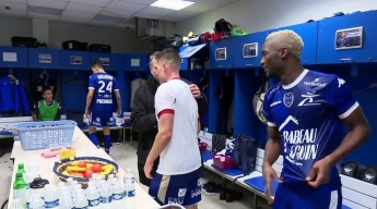 ESTAC 1-0 Lille OSC⎥Coulisses de vestiaire