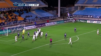 ESTAC 1-1 (4-3 TAB) AS Saint-Etienne | Résumé du match